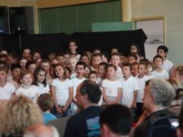 Chorale des élèves de l'école Delavaux