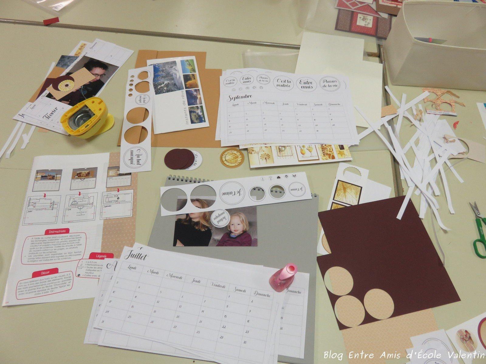 Bien connu Scrapbooking - Atelier Carte de Voeux 2017 - BEA d'Ecole Valentin GD95