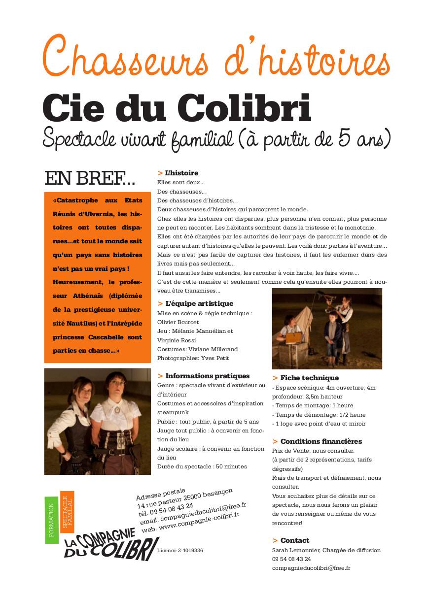 Plaquette chasseurs d'histoires2013 - Mail