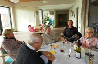 """Repas """"La fête des Seniors"""" aux Valentines"""
