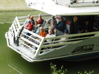 Au fil de l'eau… en bateau-mouche.
