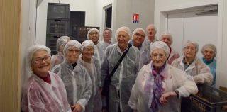 Visite de la biscuiterie Cornu à Fontain
